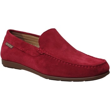 Zapatos Hombre Mocasín Mephisto ALGORAS Terciopelo rojo