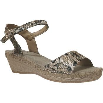 Zapatos Mujer Alpargatas Toni Pons AMBER Lienzo gris pardo