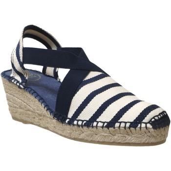 Zapatos Mujer Alpargatas Toni Pons Tarbes Azul marino/color crudo