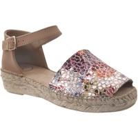 Zapatos Mujer Alpargatas Toni Pons Elgin-pm Multi cuero marrón