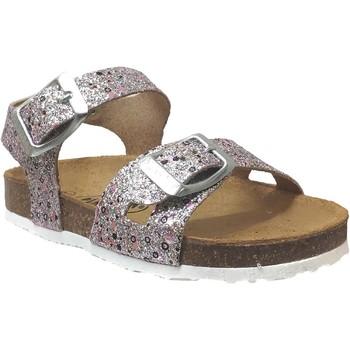 Zapatos Niña Sandalias Plakton Lisa Rosa gris