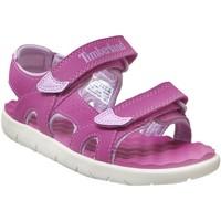 Zapatos Niños Sandalias de deporte Timberland Perkins row rosa