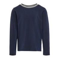 textil Niña Camisetas manga larga Only KONATHEA Azul