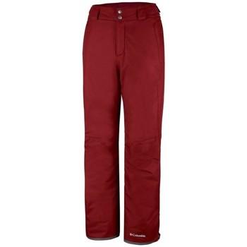 textil Hombre Pantalones Columbia  Rojo