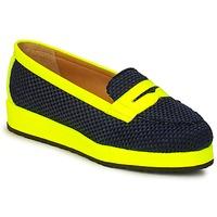 Zapatos Mujer Mocasín MySuelly VALENTINE Negro / Amarillo