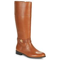 Zapatos Mujer Botas urbanas Lauren Ralph Lauren BAYLEE Cognac