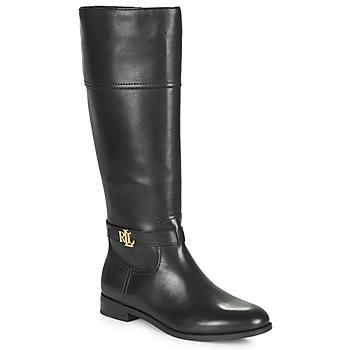 Zapatos Mujer Botas urbanas Lauren Ralph Lauren BAYLEE Negro