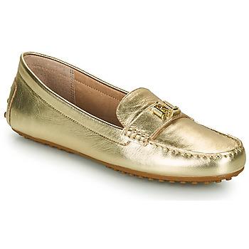 Zapatos Mujer Mocasín Lauren Ralph Lauren BARNSBURY FLATS CASUAL Oro