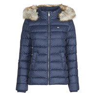 textil Mujer Plumas Tommy Jeans TJW BASIC HOODED DOWN JACKET Marino