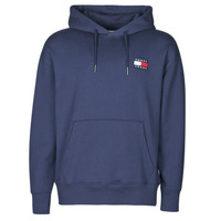 textil Hombre Sudaderas Tommy Jeans TJM TOMMY BADGE HOODIE Marino