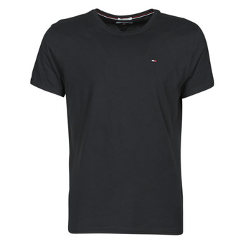 textil Hombre Camisetas manga corta Tommy Jeans TJM ORIGINAL JERSEY TEE Negro