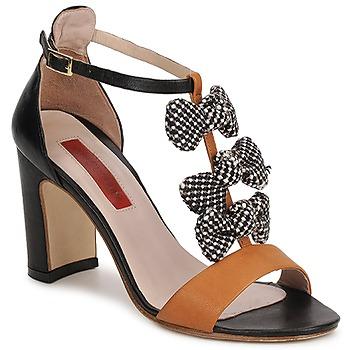 Zapatos Mujer Sandalias MySuelly NOE Negro / Marrón