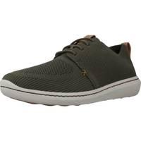 Zapatos Hombre Zapatillas bajas Clarks STEP URBAN MIX Verde