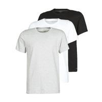 textil Hombre Camisetas manga corta Calvin Klein Jeans CREW NECK 3PACK Gris / Negro / Blanco