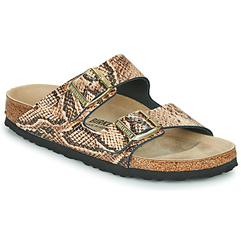 Zapatos Mujer Zuecos (Mules) Birkenstock ARIZONA Beige