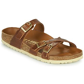 Zapatos Mujer Zuecos (Mules) Birkenstock FRANCA Marrón