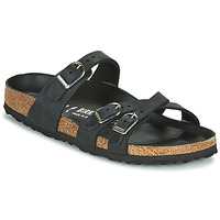 Zapatos Mujer Zuecos (Mules) Birkenstock FRANCA Negro
