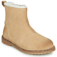 Zapatos Mujer Botas de caña baja Birkenstock MELROSE SHEARLING Beige