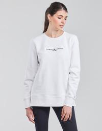 textil Mujer Sudaderas Tommy Hilfiger TH ESS HILFIGER C-NK SWEATSHIRT Blanco