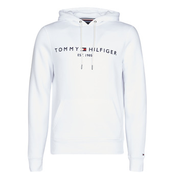 textil Hombre Sudaderas Tommy Hilfiger TOMMY LOGO HOODY Blanco