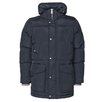 textil Hombre Plumas Tommy Hilfiger TOMMY DOWN HDD PARKA Marino