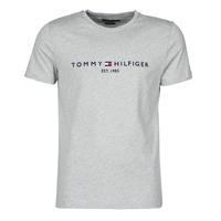 textil Hombre Camisetas manga corta Tommy Hilfiger TOMMY LOGO TEE Gris