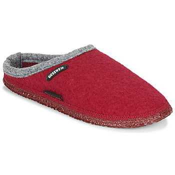 Zapatos Mujer Pantuflas Giesswein DANNHEIM Rojo / Gris