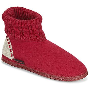 Zapatos Mujer Pantuflas Giesswein FREIBURG Rojo