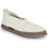 Zapatos Mujer Pantuflas Giesswein TEGERNAU Beige