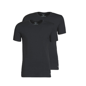 textil Hombre Camisetas manga corta Nike EVERYDAY COTTON STRETCH Negro