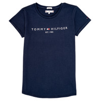 textil Niña Camisetas manga corta Tommy Hilfiger KG0KG05242-C87 Marino
