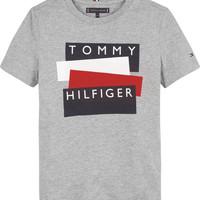 textil Niño camisetas manga corta Tommy Hilfiger KB0KB05849-P6U Gris