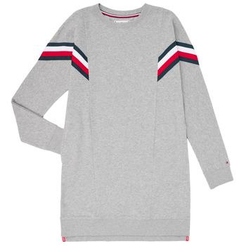 textil Niña Vestidos cortos Tommy Hilfiger KG0KG05283-P6U Gris