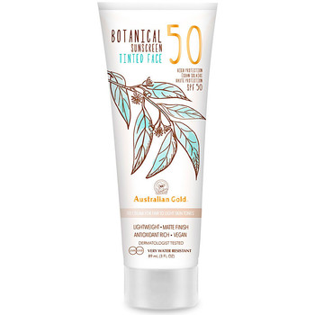 Belleza Protección solar Australian Gold Botanical Spf50 Tinted Face fair-light  88 ml
