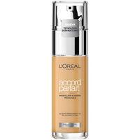 Belleza Mujer Base de maquillaje L'oréal Accord Parfait Foundation 7r-ambre Rose  30 ml