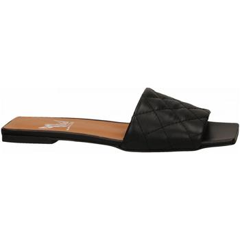 Zapatos Mujer Zuecos (Mules) Mivida CHIFFON nero