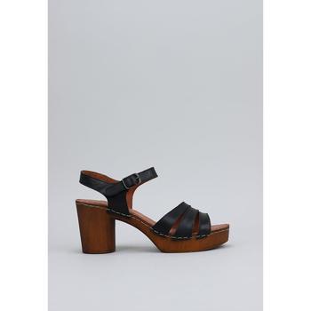Zapatos Mujer Sandalias Sandra Fontan MADERA Negro