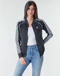 textil Mujer Chaquetas de deporte adidas Originals SST TRACKTOP PB Negro