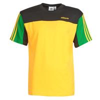 textil Hombre Camisetas manga corta adidas Originals CLASSICS SS TEE Dorado / Activo