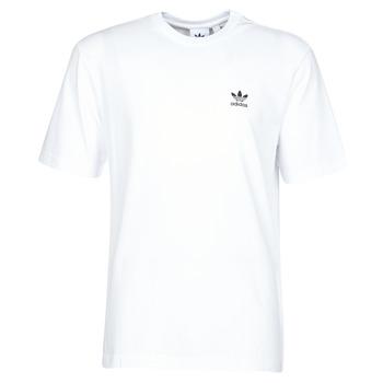 textil Hombre Camisetas manga corta adidas Originals B+F TREFOIL TEE Blanco