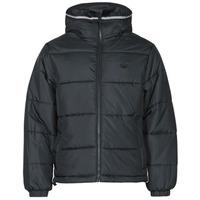 textil Hombre Plumas adidas Originals PAD HOODED PUFF Negro