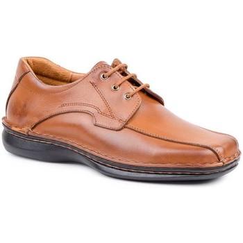 Zapatos Hombre Derbie Cactus Calzados Zapatos Derby Crispinos de piel by Cactus Marron
