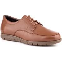 Zapatos Hombre Derbie Carlo Garelli Shoes Zapatos con cordones de piel de hombre by Carlo Garelli Marron