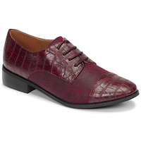 Zapatos Mujer Derbie Moony Mood NOULESSE Burdeo