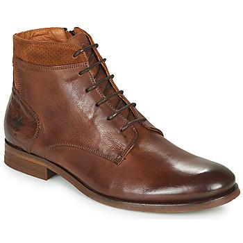 Zapatos Hombre Botas de caña baja Kost HOWARD 35 Cognac