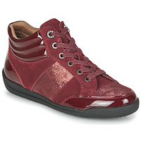 Zapatos Mujer Zapatillas altas Damart 57079 Burdeo