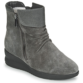 Zapatos Mujer Botas de caña baja Damart 64305 Gris