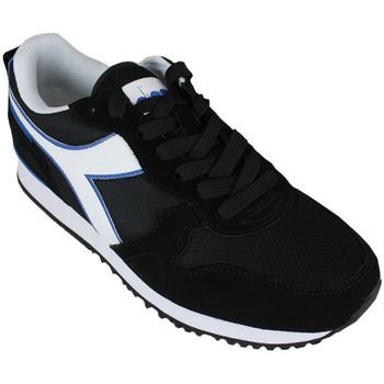Zapatos Hombre Zapatillas bajas Diadora olympia 80013 Negro