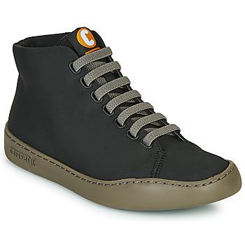 Zapatos Mujer Zapatillas altas Camper PEU TOURING Negro