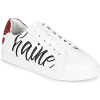 Zapatos Mujer Zapatillas bajas Bons baisers de Paname SIMONE AMOUR/HAINE Blanco